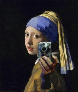 vermeer selfie