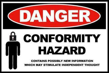 danger-conformity-hazard-contains-possibly-new-information-which-may-stimulate-independent-thought