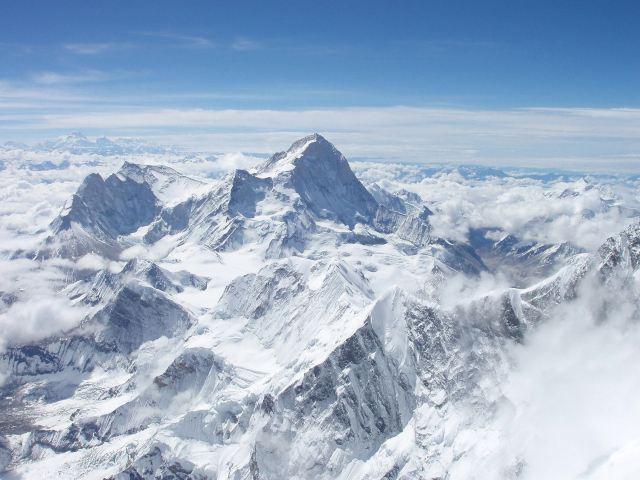 Makalu vom Everest